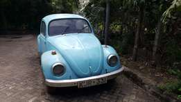 Vintage Volkswagen Beetle for sale - amazing deal!