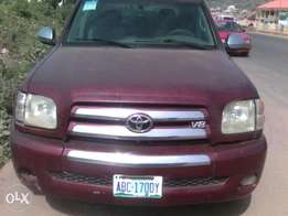 Clean Naija Used Toyota Tundra Model 2005 For Sale