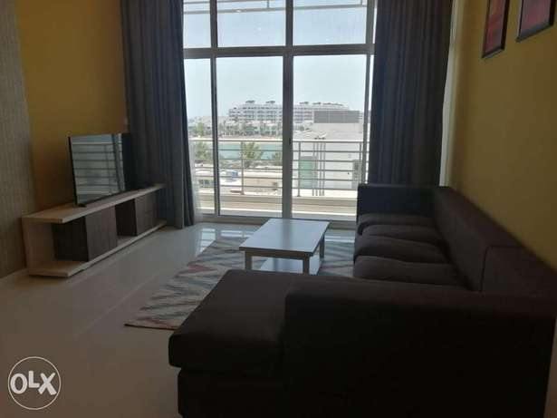 Spacious 2 BR +Maid room FF Apartment with Sea View in Amwaj island