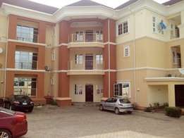 Serviced 3bedroom Flat with a room BQ for rent at Jabi