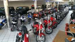 Superbikes & cruisers for sale