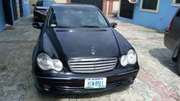 Neatly used 2005 c240 4matic