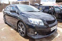 Black Toyota Fielder for only KES 1.26m, 1.5l 2010/10 Model Very Clean
