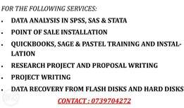 Data analysis in SPSS, STATA,R AND SAS