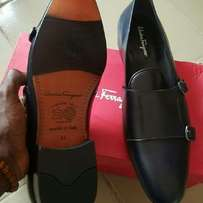 Ferragamo Leather Shoe
