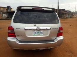 Neat cheap nigeria used Toyota Highlander limited