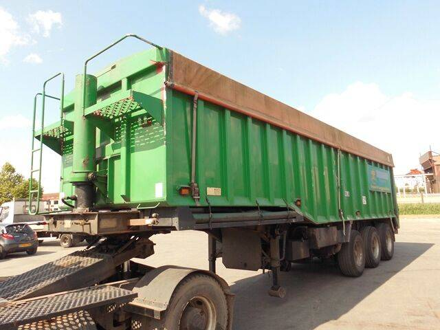 Sale wisbech tipper stepframe tipper semi-trailer for  by auction - 2019