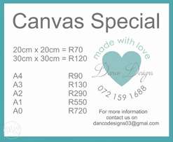 Massive Canvas Sale