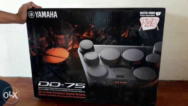YAMAHA DD75 drums for sale.
