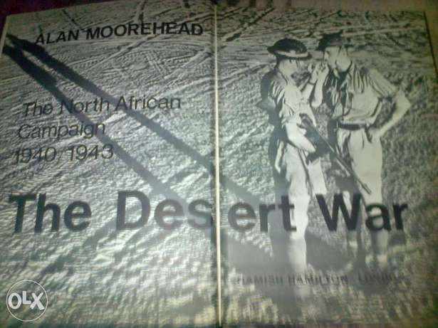 The Desert War 1940/1943 make a offer Silverton - image 1