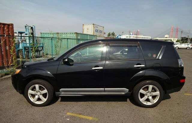 Metallic Black outlander with alloy wheels fully loaded Mombasa Island - image 8