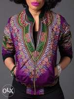 Full Dashiki African Unisex Jackets