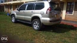 Mint condition Toyota prado 120 with sunroof
