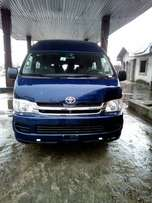 clean toyota hiace high roof for sale