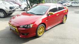 A Shinning 2011 Mistubishi 2.0 Lancer, complete extras, low MIleage!