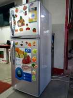 Quick sell, New 168 litres ADH double door Fridge, at only 600,000/=