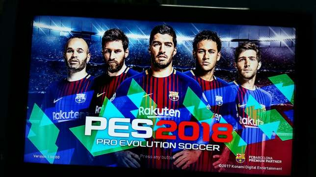 Pes18 ps4 available only 5500 Nairobi CBD - image 1