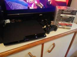 Ps3 250 gig +15 games for sale R3500