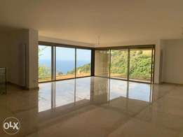 Spacious Apartment with Side Sea View