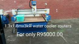 103mx1.8mx3kw watercooled cnc routers