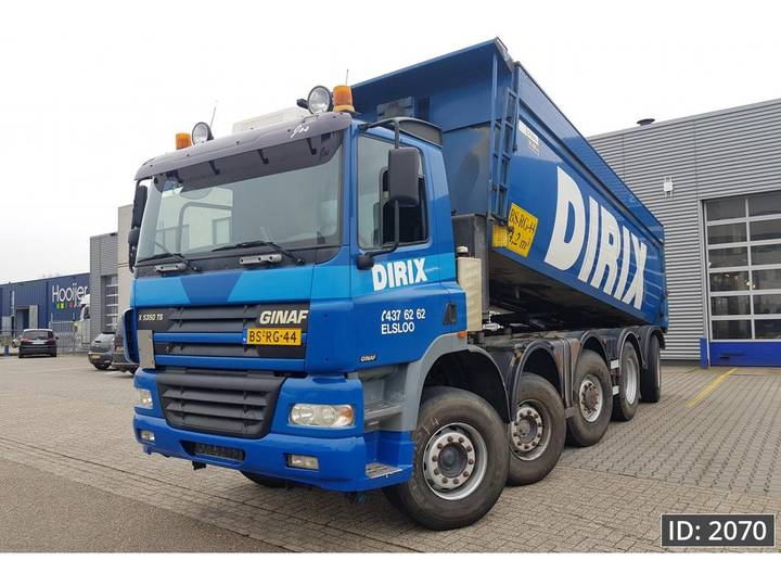 Ginaf X 5350 TS Day Cab, Euro 5, - NL Truck - EURO 5 - 2007