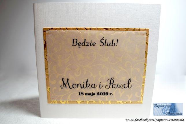 Zaproszenia ślubne Ornamenty Model 1 Nowość Jabłonna Olxpl