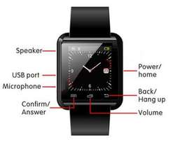 U8 Bluetooth Smartwatch (Brand New) Only 3 Available