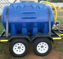 Diesel /water trailers structure fully galvanized for sale