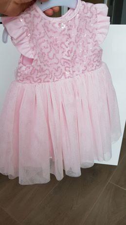 6d5b7f2578 Śliczna sukienka r. 74 dla małej księżniczki Kalisz - image 2