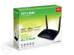 TL MR6400 Wireless N 4G LTE Router (Any sim card)