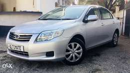 toyota axio 2011 model premium loaded edition Kcp 240k deposit only