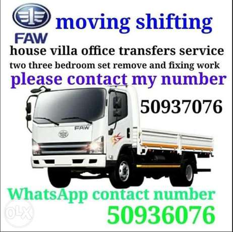 We do good price moving shifting services
