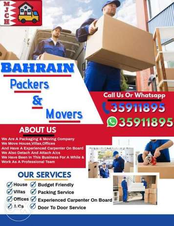 House movers and packers all over Bahrain