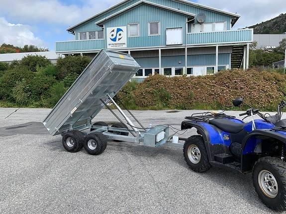 Atv Tipp Henger Eller Traktor - 2019