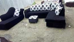 8 seater fabric sofa