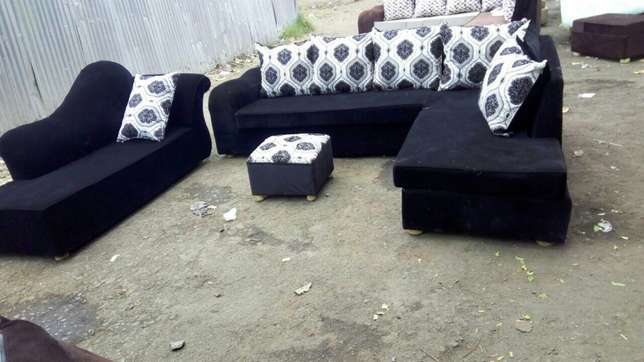 8 seater fabric sofa Ngara - image 1