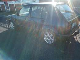 Vw Golf 1 1.4i velocity with Towbar