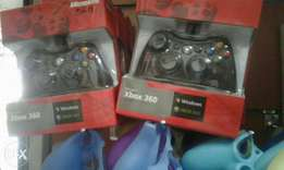 Xbox 360 wired pads for both xbox and Pc Gameplay