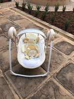 Ingenuity soothe & delight portable swing