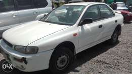 subaru impreza manual 1500cc 2001 well maintained