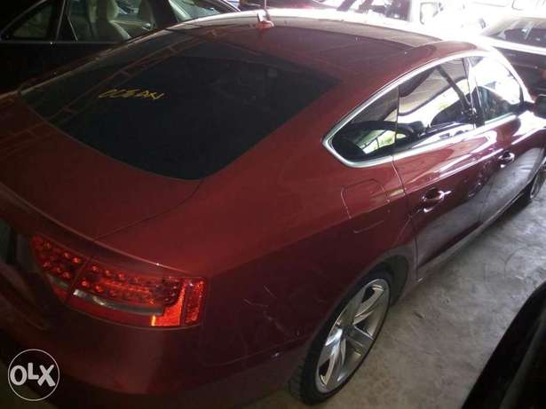 Audi A4 1.8T Sparkling Red Mombasa Island - image 3