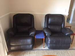 Genuin Leather recliners