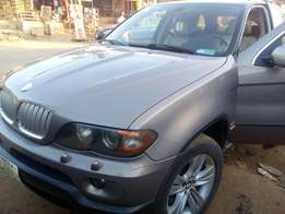 2005 BMW X5, a months used