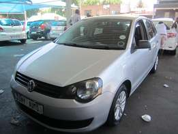 2012 Silver VW Polo Vivo 1,4 engine