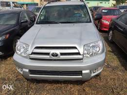 Tokunbo Toyota 4Runner Leather, DVD,Reverse Camera,Navigation,98 Miles