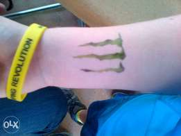 Temporary Airbrush tattoos & Face Painting