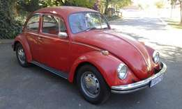 1971 Beetle 1500 Imported with Disc Brakes