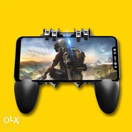 Pubg Gamepad AK66 Mobile Phone Game Controller Shooter Trigger Fire