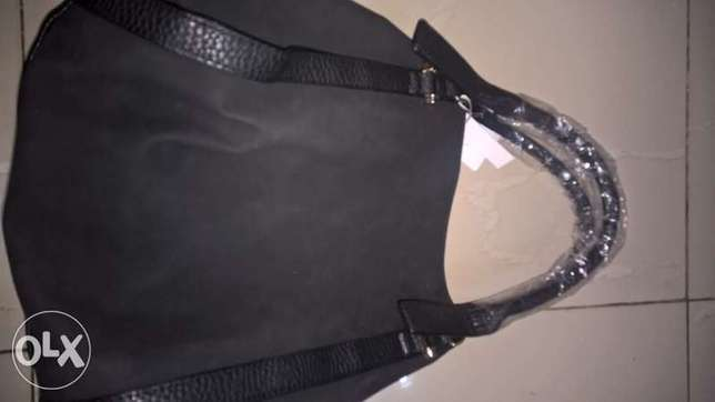 Brand New Black Slouchy NEW LOOK TOTE Handbag Wuse II - image 2
