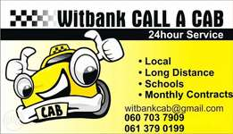 Witbank call a cab